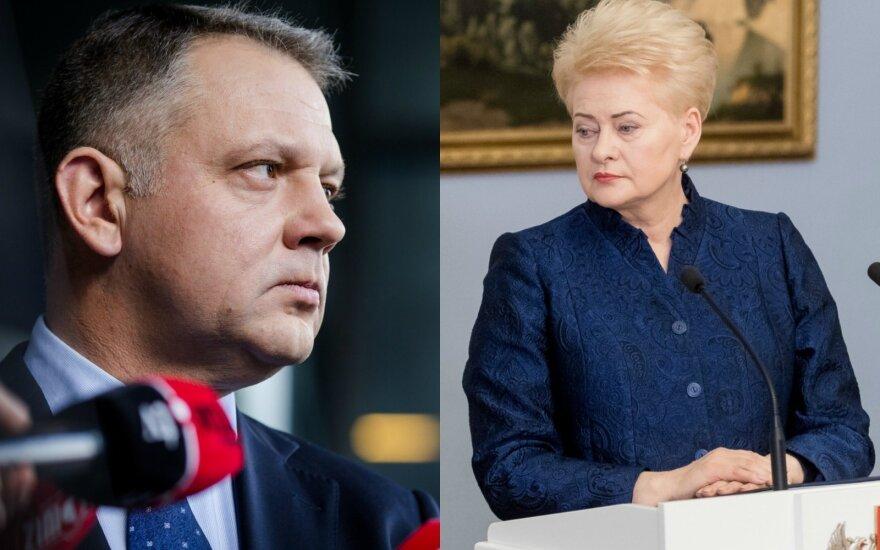 Переписка президента Литвы с бывшим лидером либералов: что нам известно?