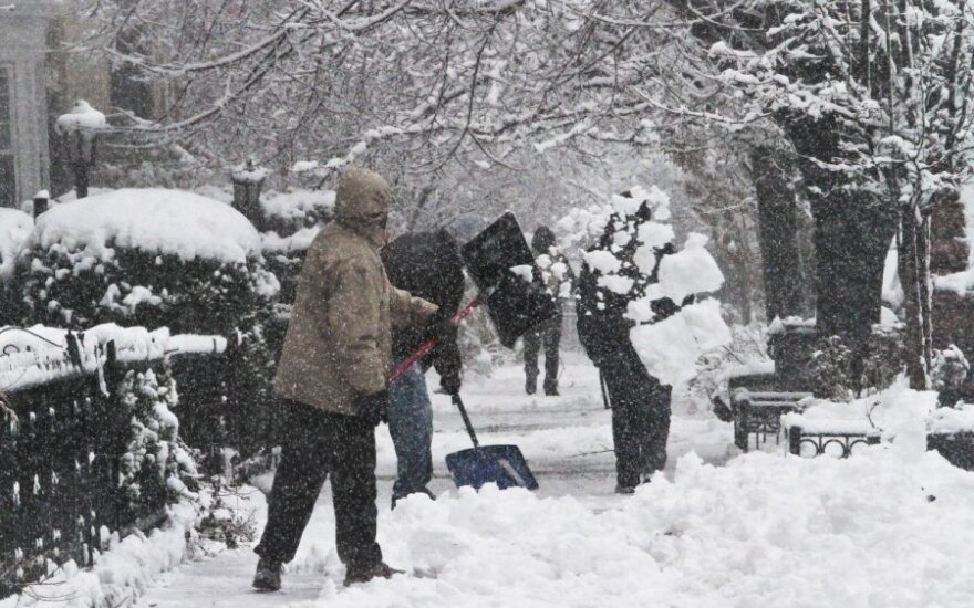 Sniegas JAV
