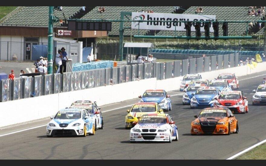 Гоночный уикэнд на венгерской трассе Hungaroring