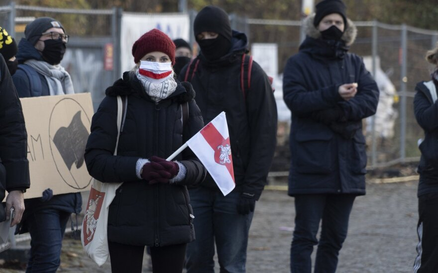 Глава СОГГЛ: по гуманитарным причинам в Литву уже прибыло почти 350 белорусов