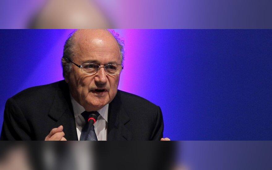 Josephas Blatteris - FIFA prezidentas