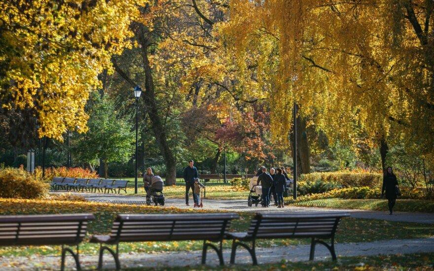 Погода: в Литву приходит настоящая осень