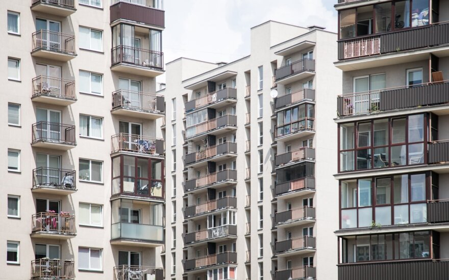 Евростат: годовой рост цен на жилье в Литве – самый низкий в странах Балтии