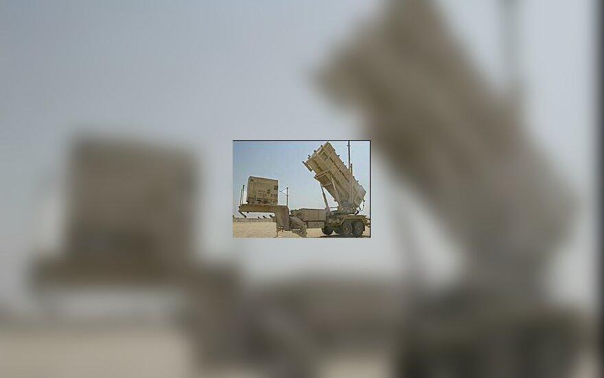 """JAV """"Patriot """" raketa"""
