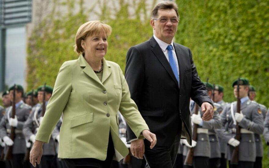 Буткявичюс: Германия поддерживает стремление Литвы ввести евро