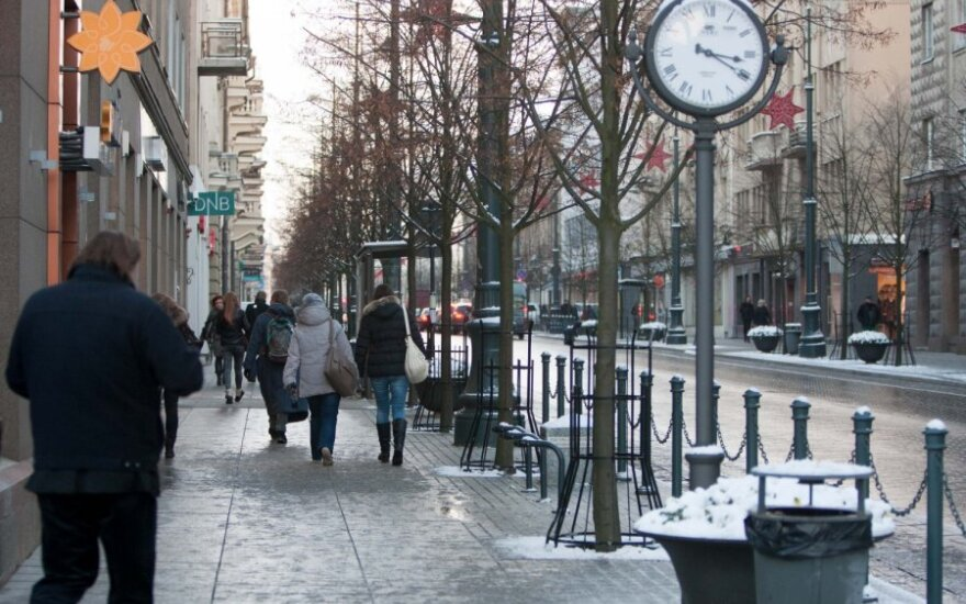 Погода: в Литве ожидается до 12 градусов мороза