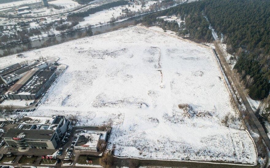 Проект Akropolis у парка Вингис пока не продвигается: есть другие приоритеты