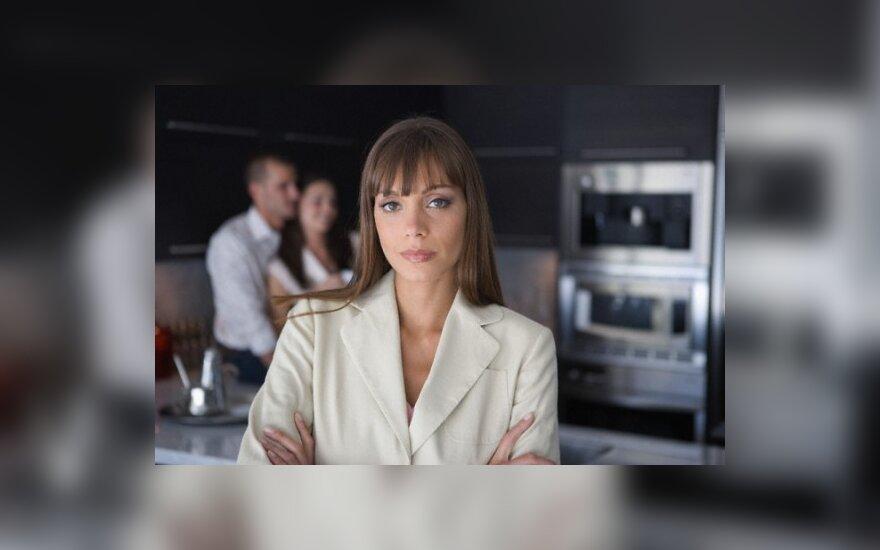 Susirūpinusi moteris