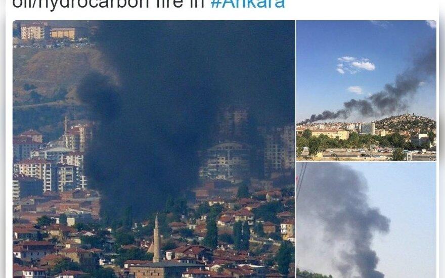 Sprogimas Ankaroje