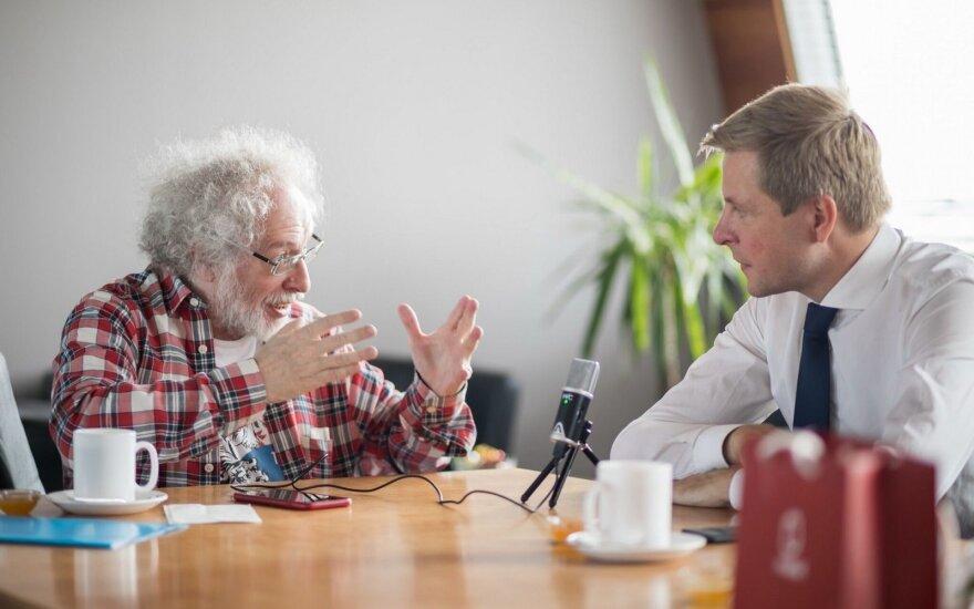 Интервью Венедиктова с Шимашюсом