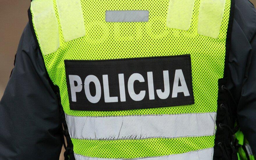 Policijos reidas Vilkijoje