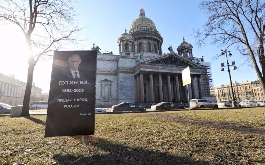 Antkapis Vladimirui Putinui