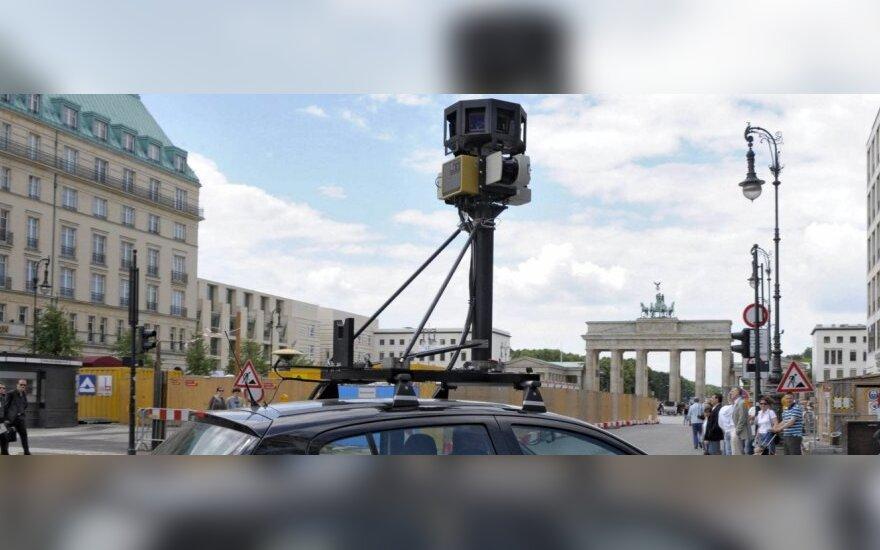 """Google Maps Street View"" automobilis"