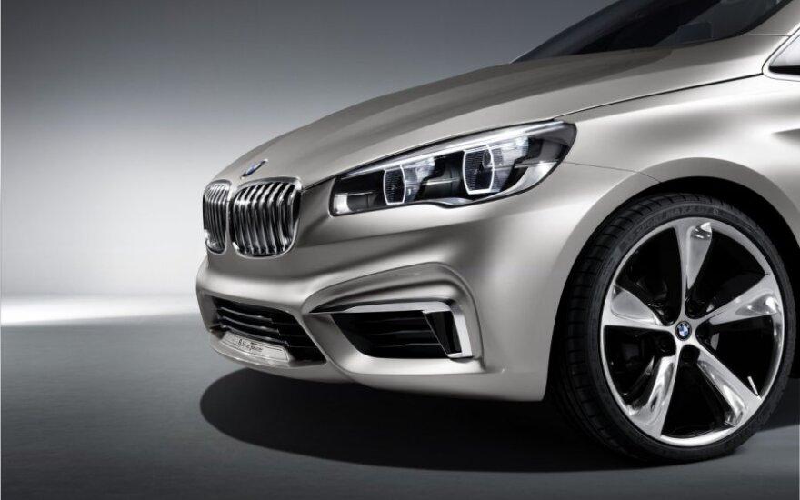 BMW представили новый хэтчбек с расходом 2,5 литра на 100 км