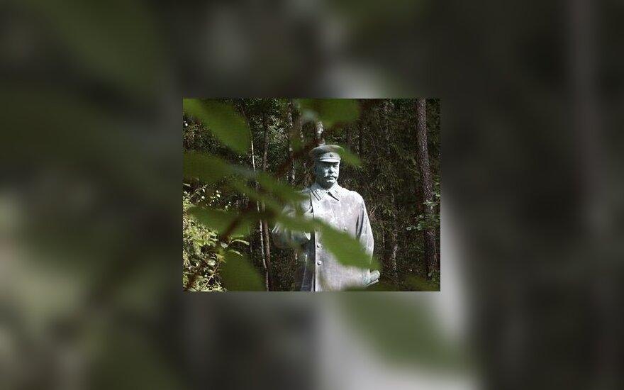 Grūto parkas, J.Stalinas