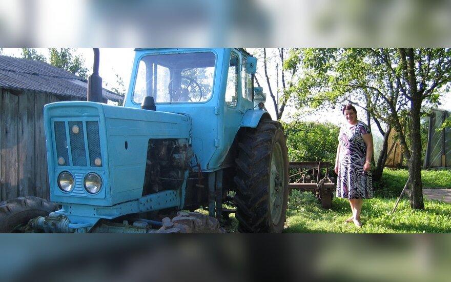 Полицейским Тельшяйского района пришлось преследовать трактор