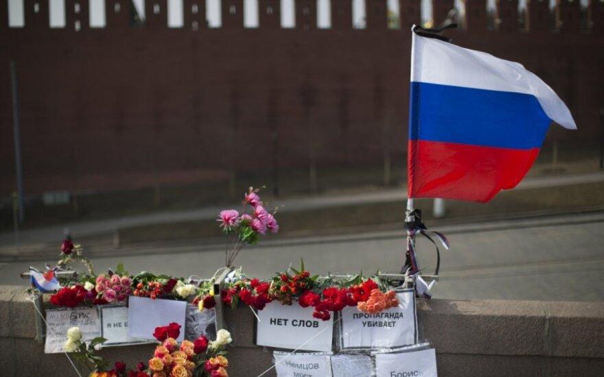 Maskvoje likviduotas memorialas B. Nemcovui