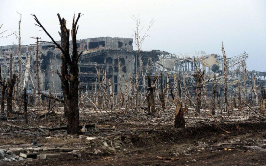 """На территории Донецкого аэропорта найдены тела """"киборгов"""""""
