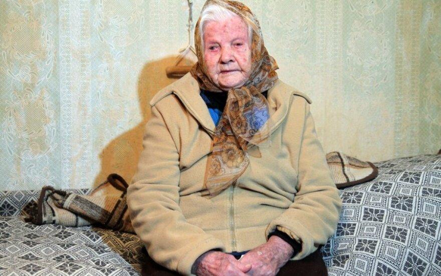 110-летняя жительница Каунаса: врачи не верят, что мне столько лет