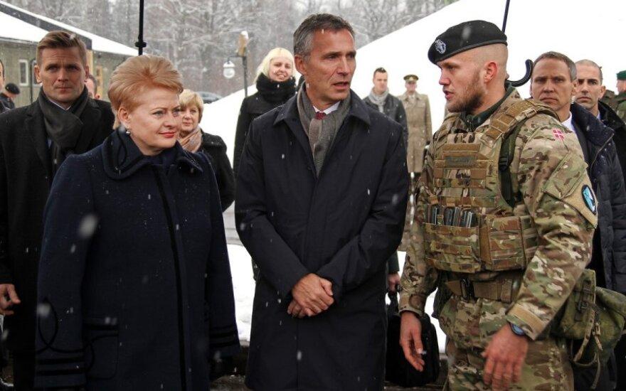 В Литве с визитом находится новый глава НАТО