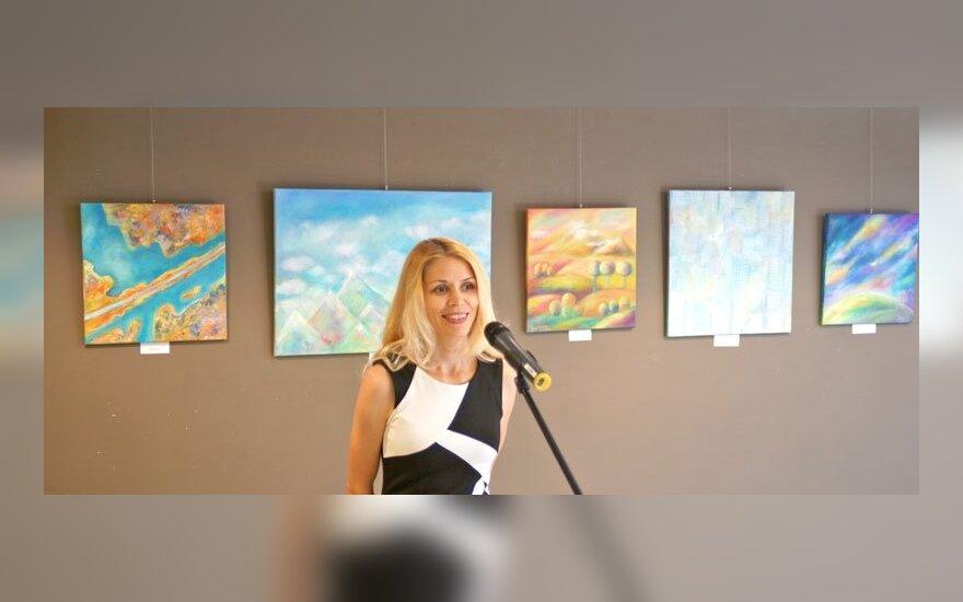 В Сейме Литвы открылась художественная выставка бизнес-иммигранта из России