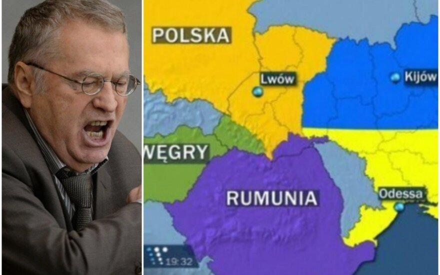 Жириновский предложил Польше поделить Украину