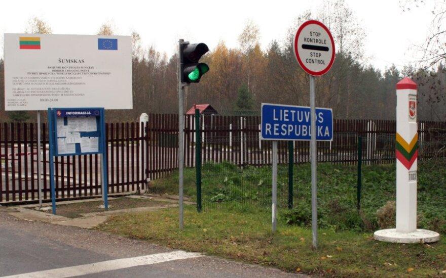 Литовский пограничник прострелил ногу белорусу, пытавшемуся отнять у него оружие