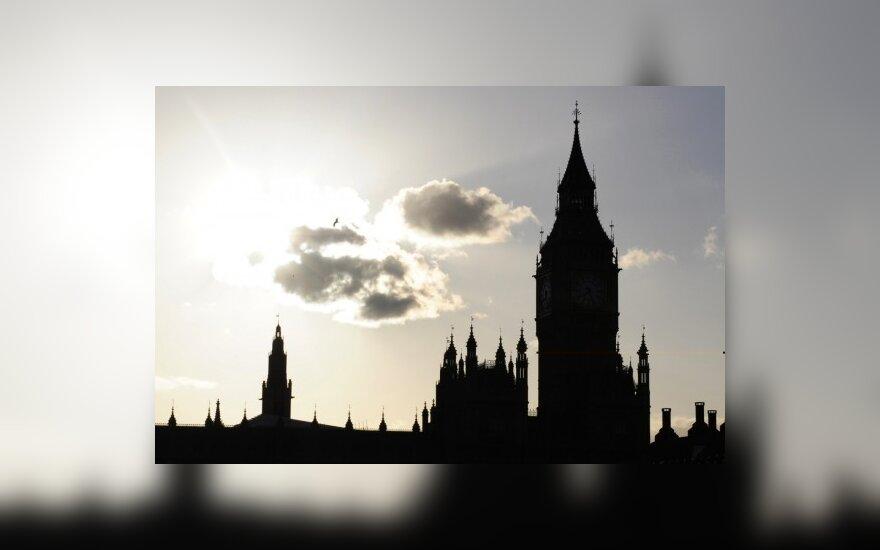 В центре Лондона - крупный пожар