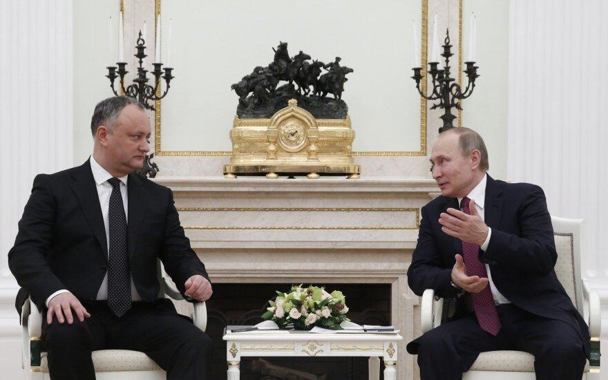 Президент Молдовы: нам нужно стратегическое парнерство с Россией