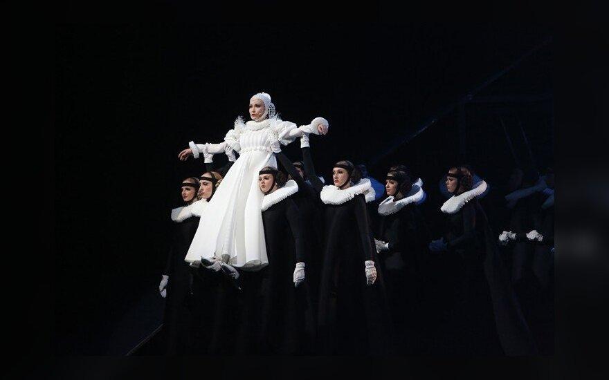 В Каунасе при полном аншлаге - самый дорогой литовский мюзикл