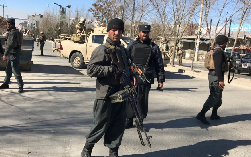 При взрыве около здания МВД в Кабуле погибли более 40 человек