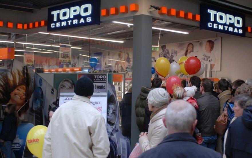 В Клайпеде снова появится магазин Topo centras