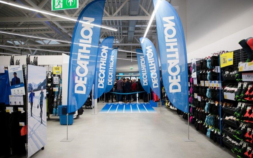 24 ноября в Вильнюсе откроется магазин Decathlon