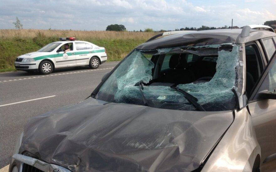 В Клайпедском районе произошло ДТП