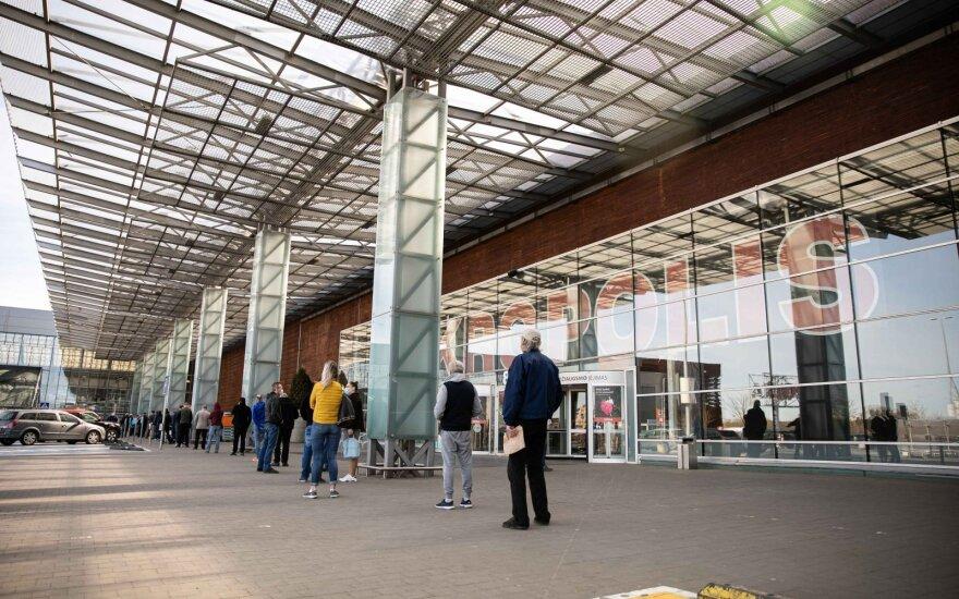 В Литве открываются магазины в ТЦ Akropolis