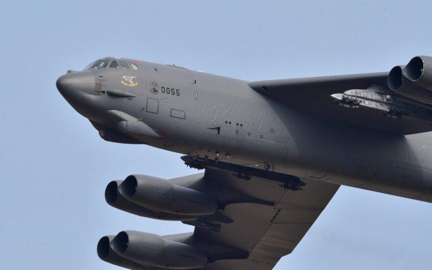 На учениях в Литве впервые атаковали цели бомбардировщики B-52 ВВС США
