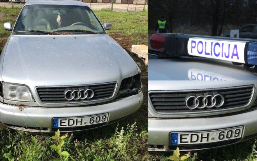Курьез: полиция ищет человека, оставившего в лесу Audi A6