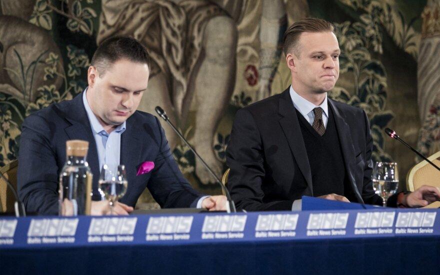 Andrius Vyšniauskas, Gabrielius Landsbergis