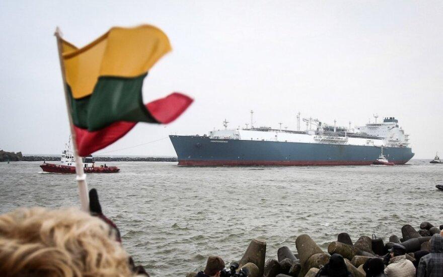 Коммерческий груз СПГ прибудет в Клайпеду во вторник