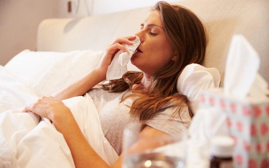 В Каунасе объявлена эпидемия гриппа
