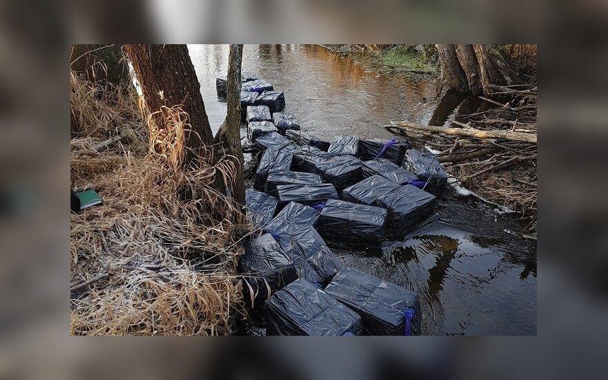 Пo реке из Беларуси приплыла контрабанда на 45 000 евро