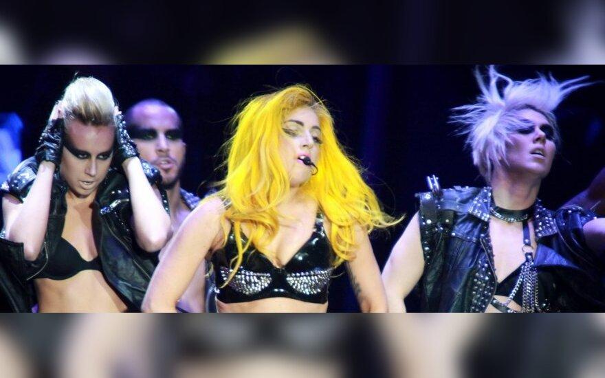 Певица Леди Гага ждет первенца