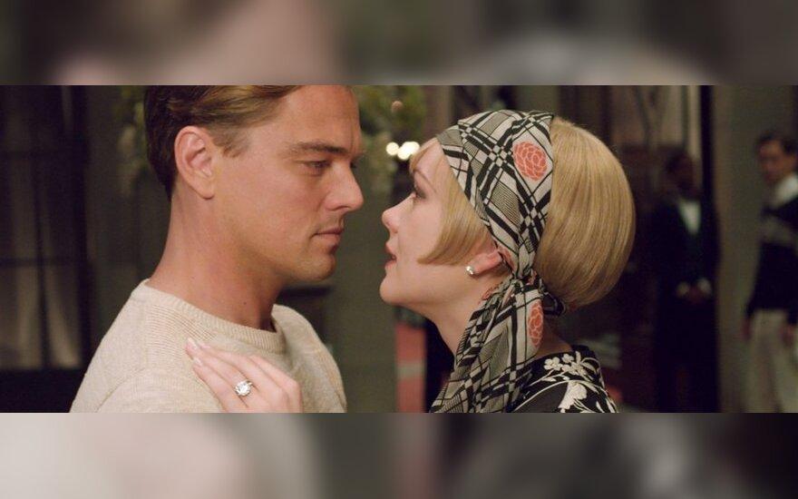 leonardo DiCaprio ir Carey Mulligan