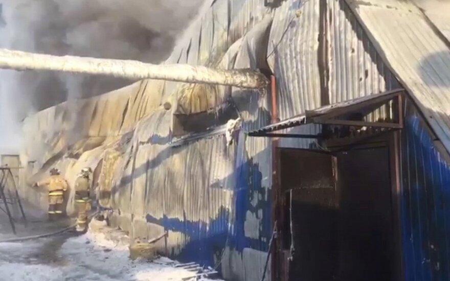 Пожар на обувной фабрике в России: погибли десять граждан Китая