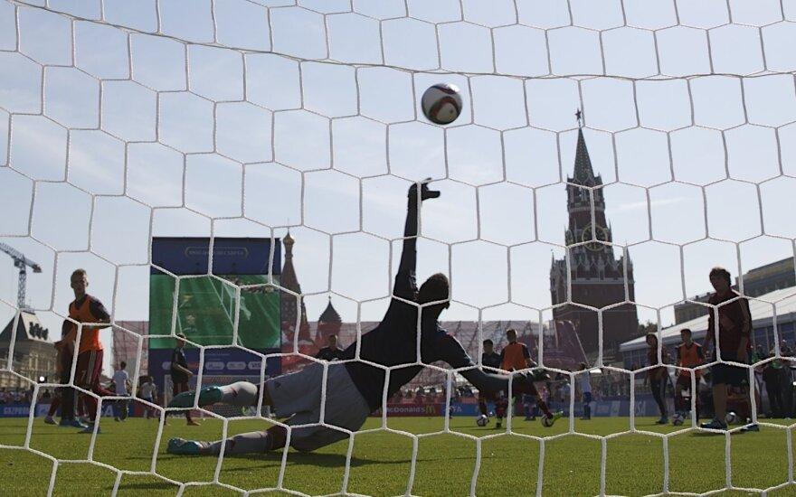 2018 metų pasaulio futbolo čempionatas vyks Rusijoje