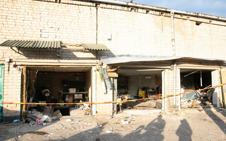 В Вильнюсе прогремел взрыв, повреждено здание