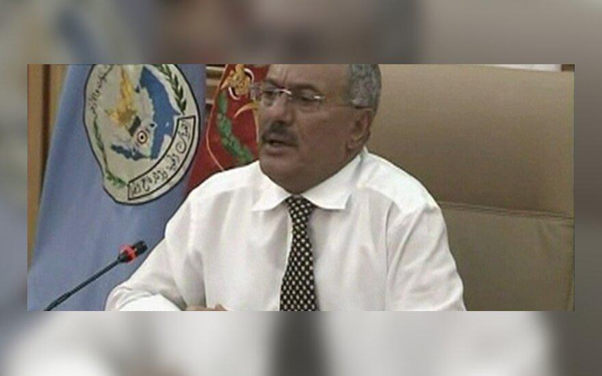 Jemeno prezidentas Ali Abdula Salehas