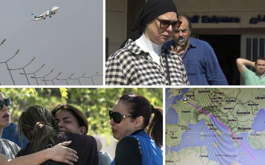 Обнаружены обломки египетского авиалайнера