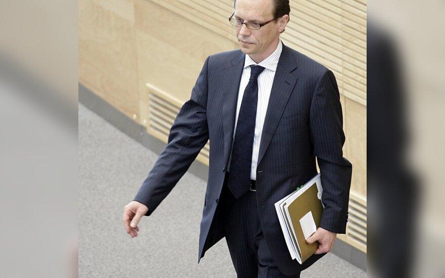 А.Кубилюс подтвердил, что А.Шемета едет в Брюссель