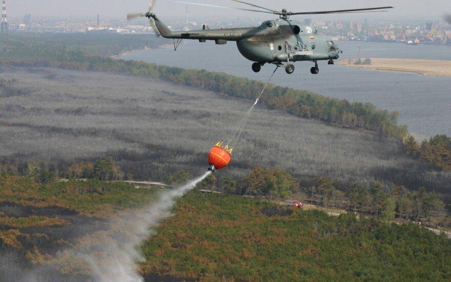 Министр обороны Литвы продлил срок проверки по поводу ремонта вертолетов Ми-8 в России